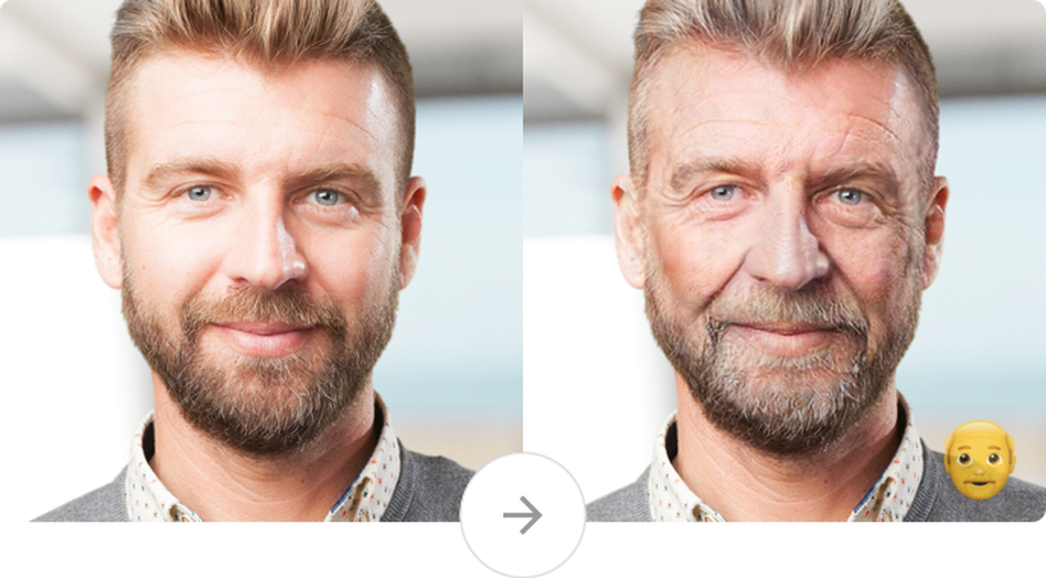 The viral face-transforming FaceApp climbed to the top of the App Store on Wednesday. (FaceApp)