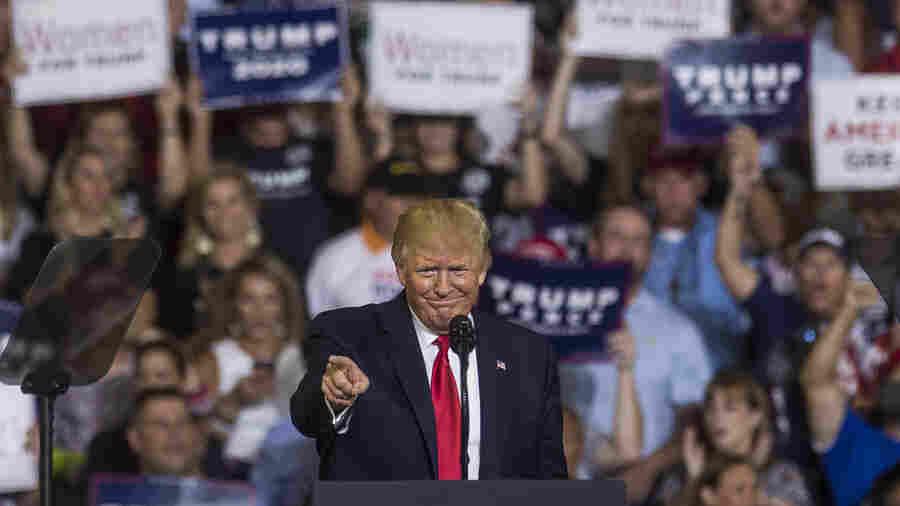 Trump Attacks Congresswomen At N.C. Rally, As Crowd Chants 'Send Her Back'
