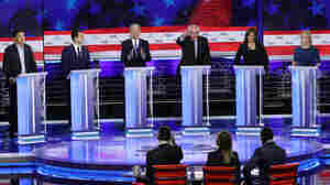 2nd Democratic Primary Debate: See Which Candidates Made The Cut