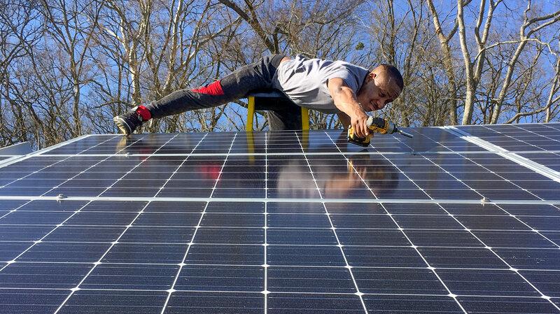 Nashville Man Brings Solar Energy To Minority Communities : NPR