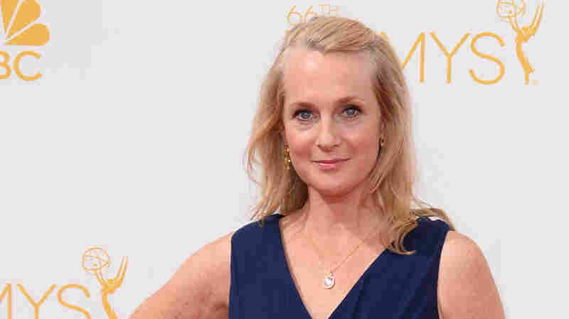 Piper Kerman arrives at the 66th Annual Primetime Emmy Awards at on Aug. 25, 2014, in Los Angeles.