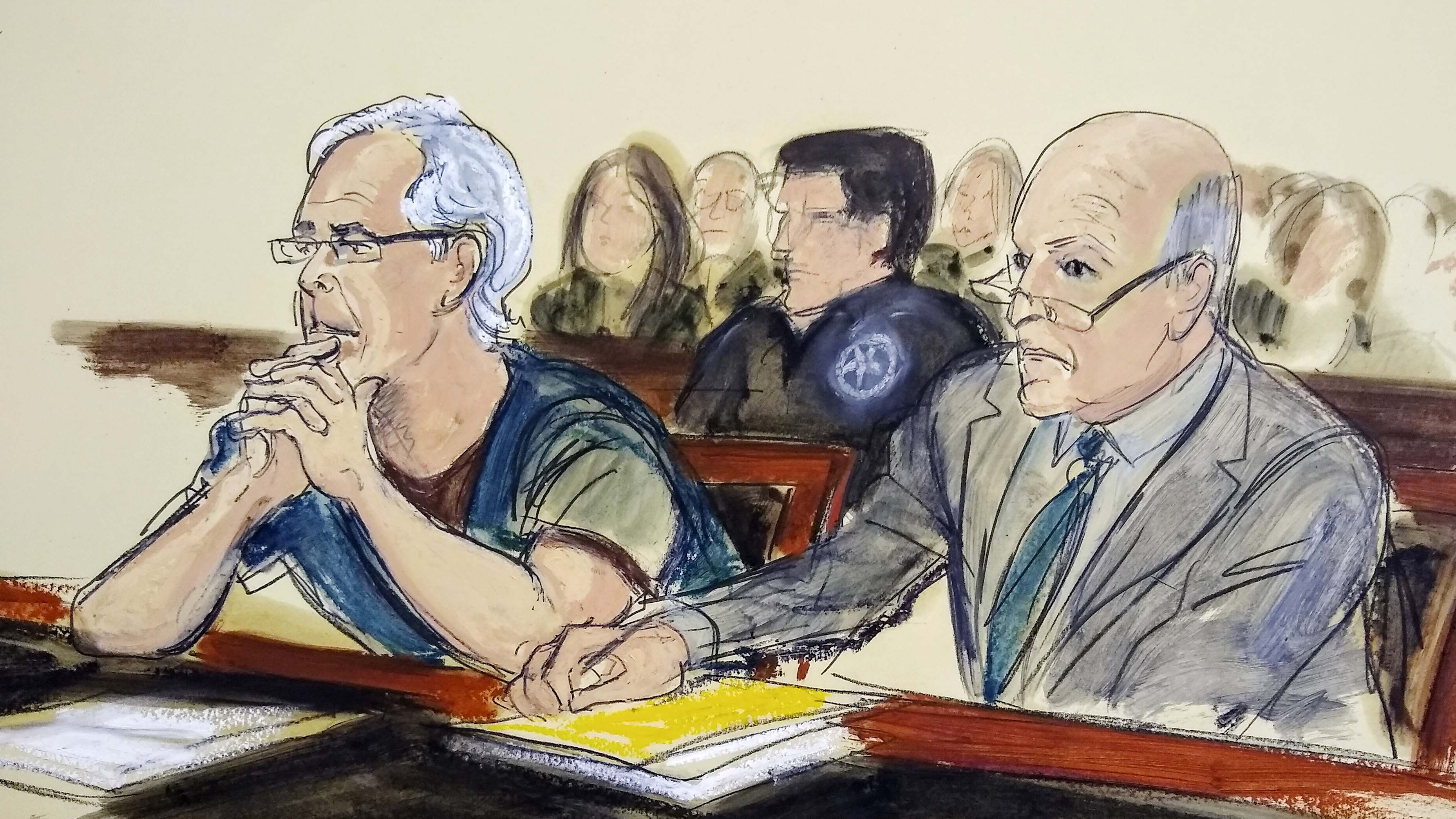 Jeffrey Epstein Is Denied Bail In Sex Trafficking Case