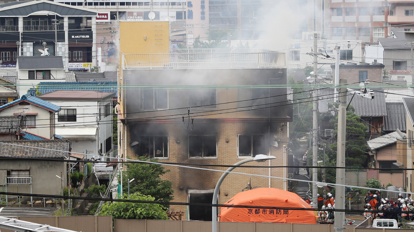 Japanese Anime Studio Hit With Suspected Arson, Killing At Least 16