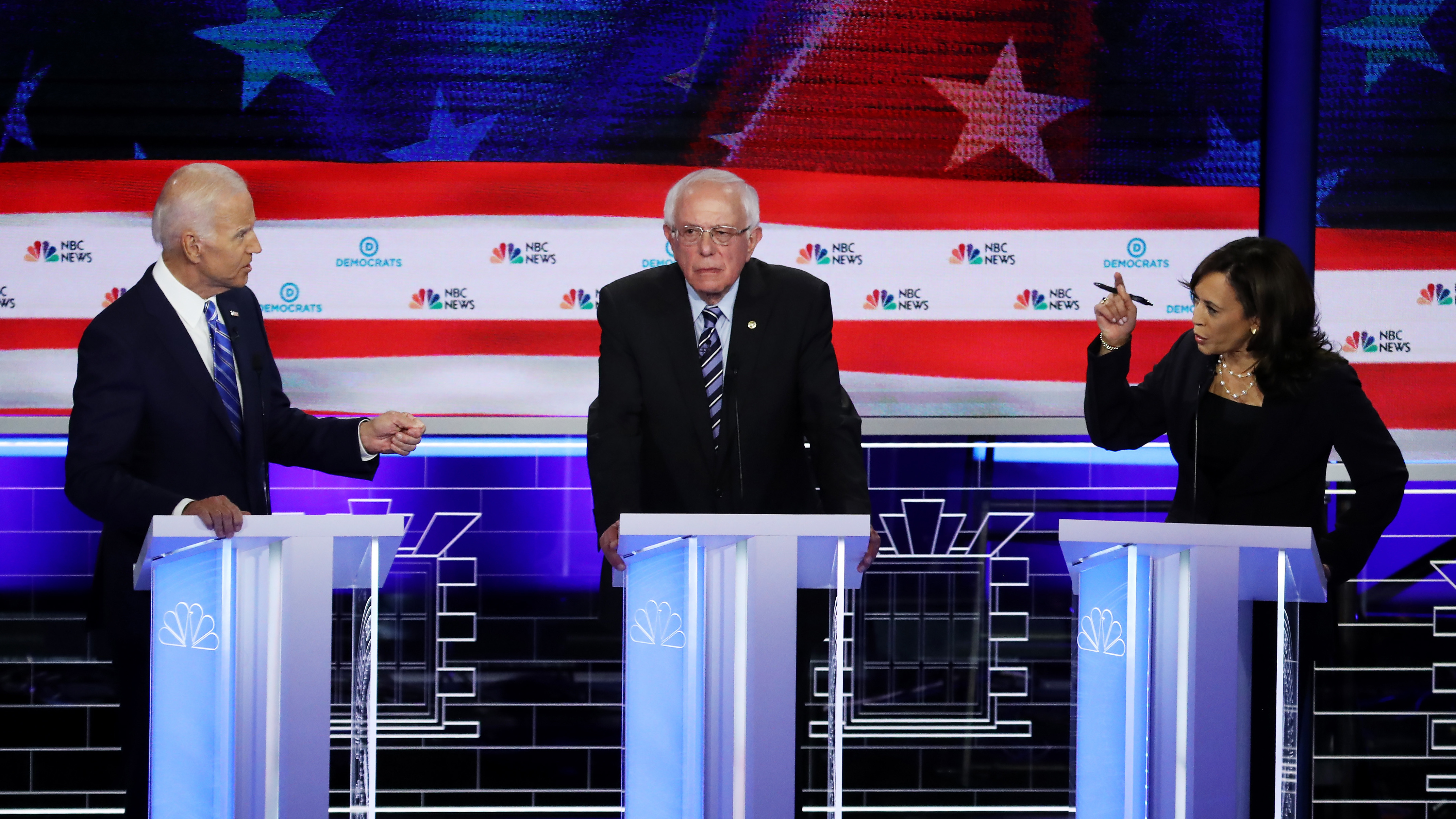 2nd Democratic Primary Debate Matchups Set: Sanders Vs. Warren and Biden Vs. Harris