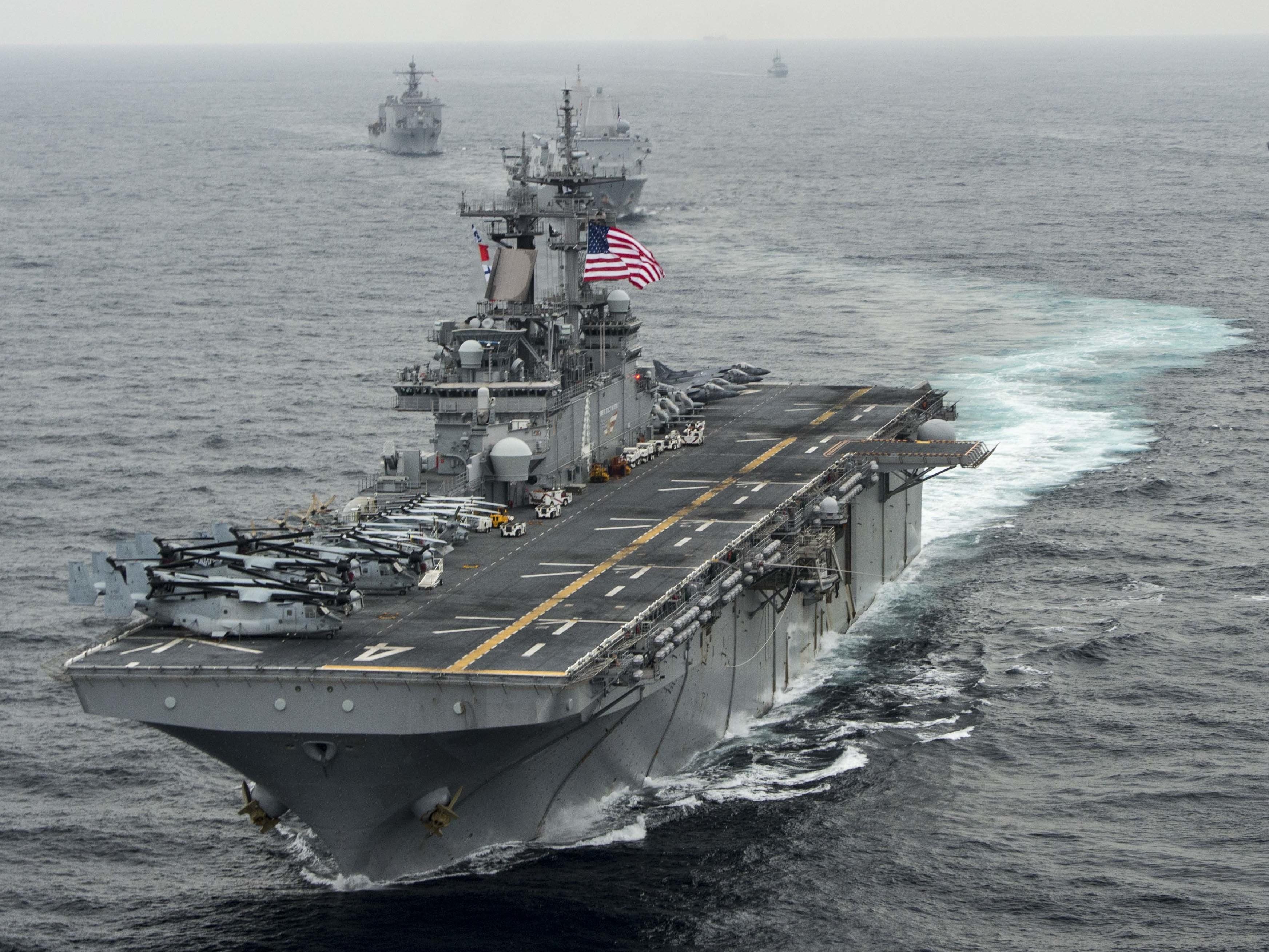 U.S. shot down Iranian drone in Strait of Hormuz, says Trump