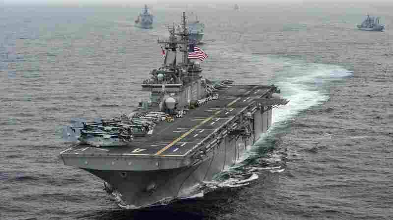 U.S. Navy Ship Destroys Iranian Drone Over Strait Of Hormuz