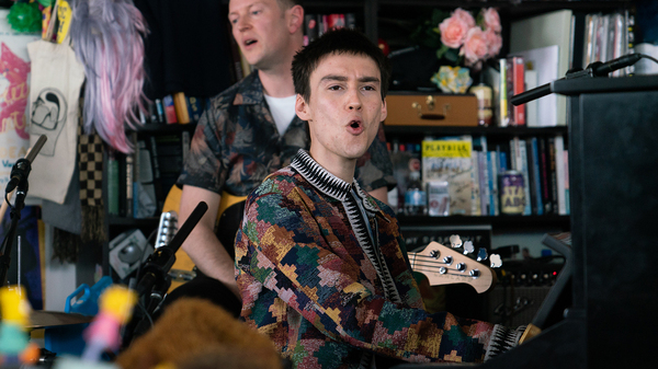 Jacob Collier plays a Tiny Desk Concert on May 16, 2019.