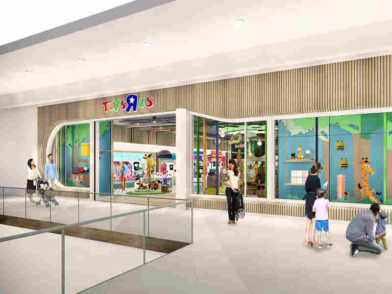Toys R Us makes small comeback with 2 stores