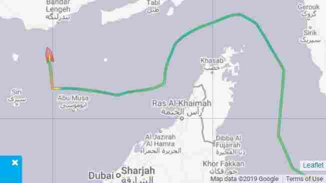 Westlake Legal Group 2nd-ship_wide-102e29875a090cfc164053339cbbce746bd1c0e4-s1100-c15 Iran Seizes British-Flagged Oil Tanker In Strait Of Hormuz