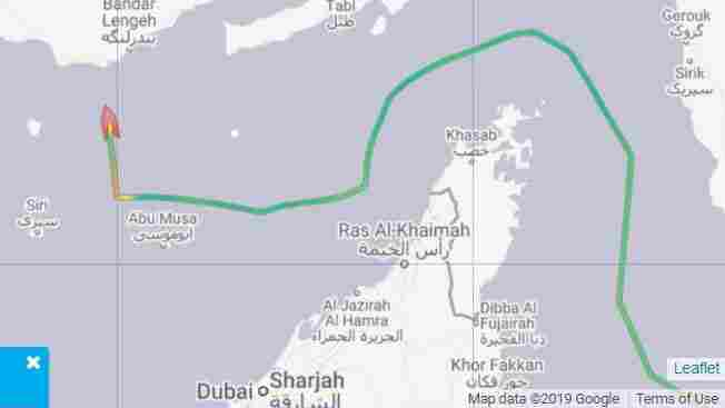 Iran Seizes British-Flagged Oil Tanker In Strait Of Hormuz