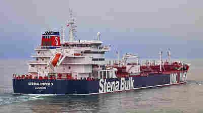 Iran Says It Seized A British Oil Tanker In Strait Of Hormuz