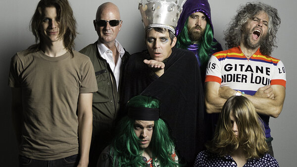 The Flaming Lips. Their new album, The King