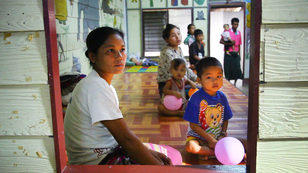 In 2012, this mother carried her 5-year-old son to a malaria clinic in Thailand from Myanmar. Two new studies find that multidrug-resistant parasites are rendering front-line malaria drugs ineffective in Southeast Asia.