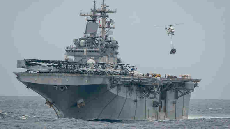 USS Boxer Used Electronic Jamming To Take Down Iranian Drone, Pentagon Sources Say