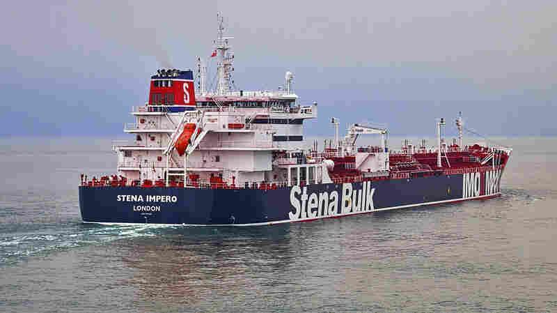U.K. Fears Iran Is Taking A 'Dangerous Path' After Seizure Of Tanker