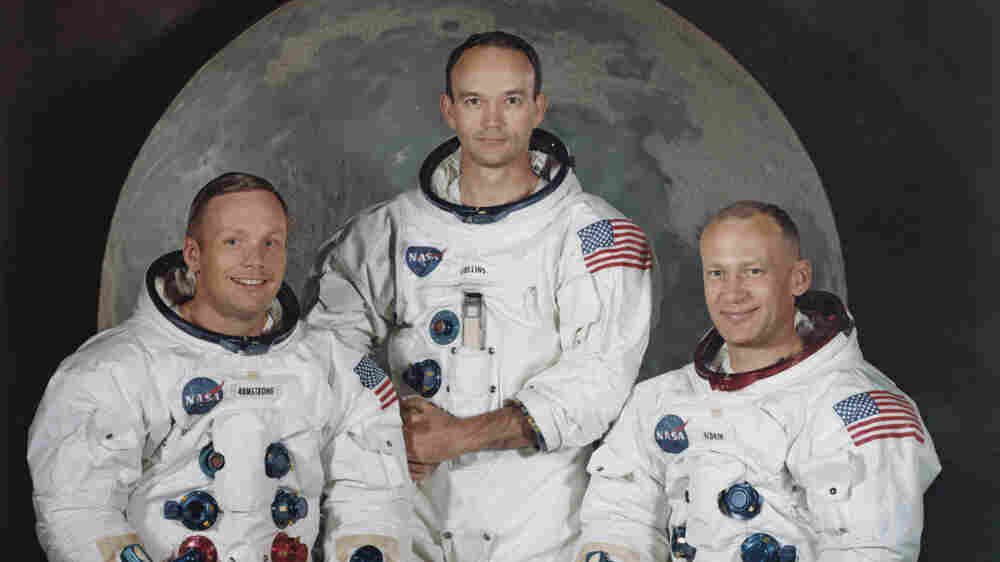 On Apollo 11 Anniversary, A Former Crew Member Reflects On The Lunar Trip