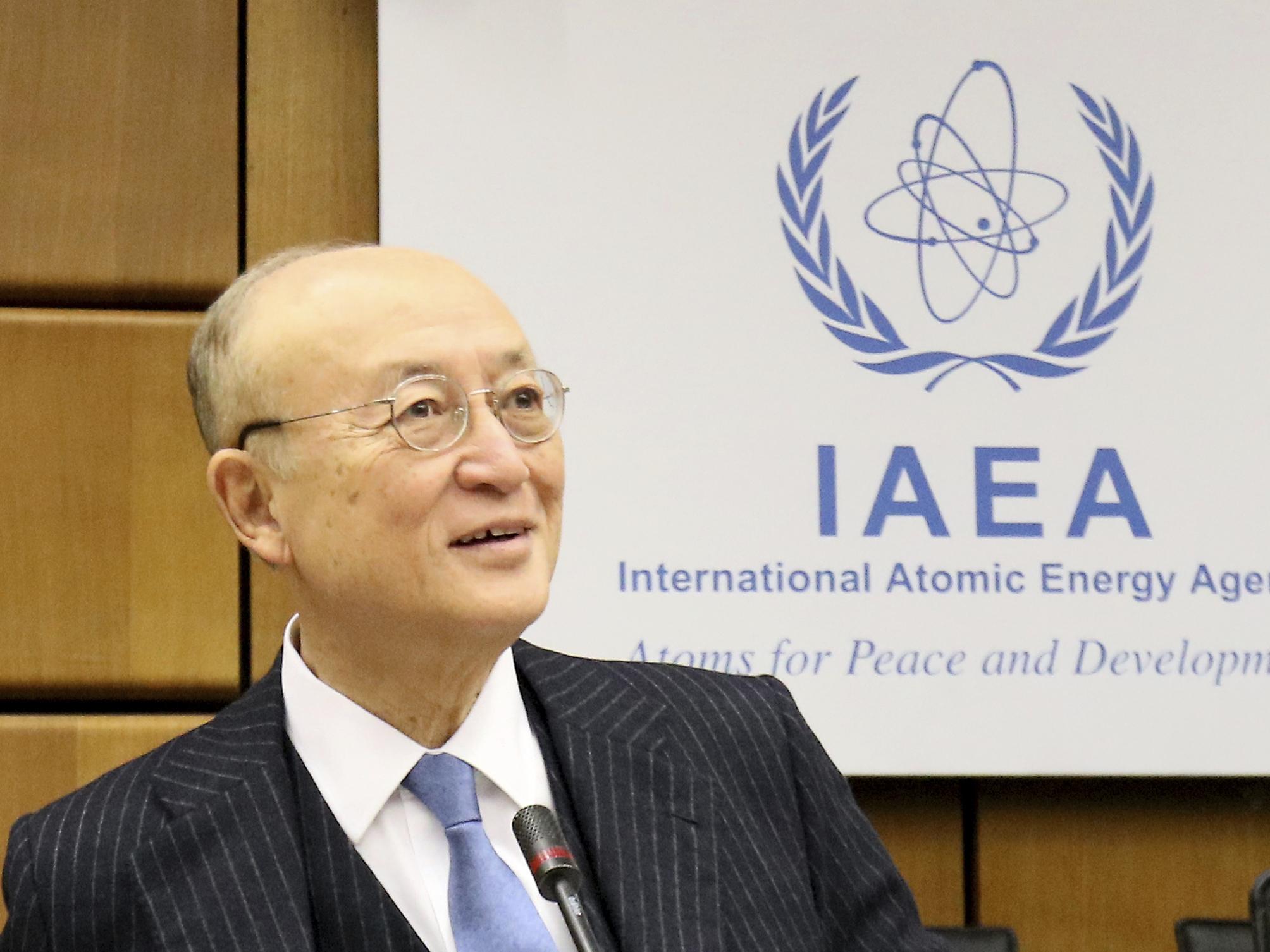 Yukiya Amano, The Head Of U.N. Nuclear Watchdog, Dies At 72