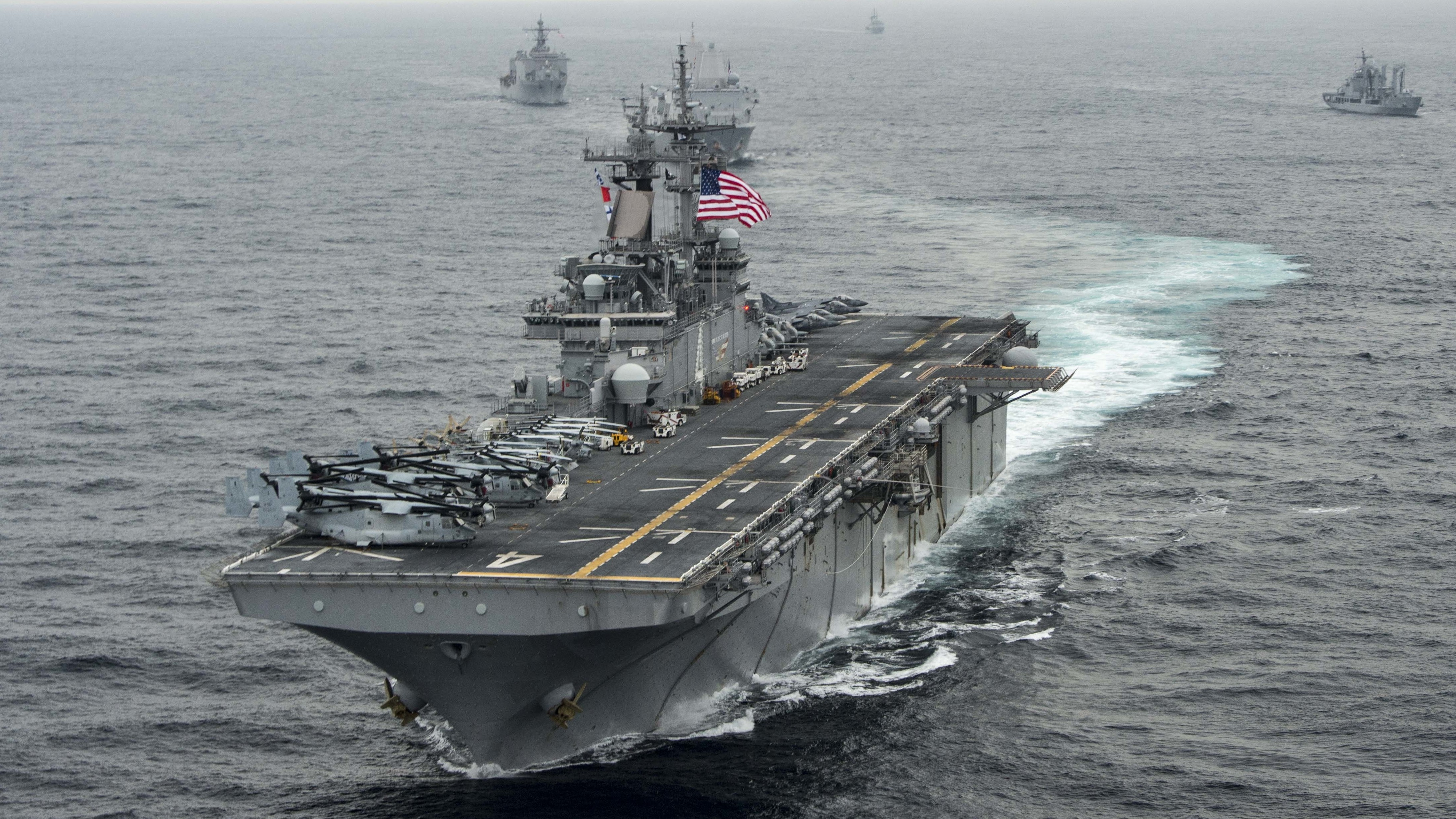 U.S. Warship 'May Have' Brought Down A 2nd Iranian Drone, General Says