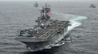 The amphibious assault ship USS Boxer may have taken down more than one Iranian drone over the Strait of Hormuz, according to a senior U.S. general.