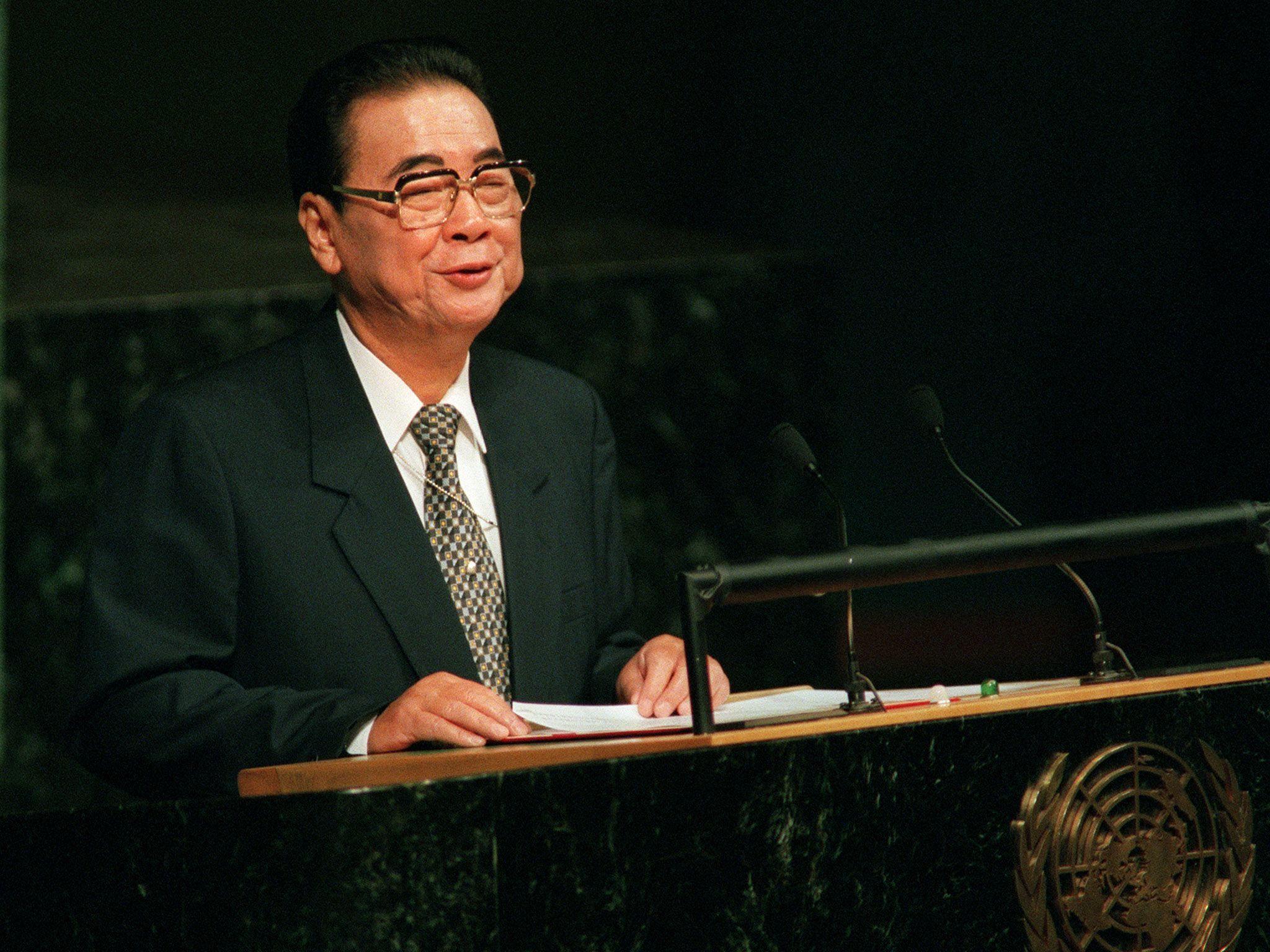 Li Peng, Chinese Premier Known As 'Butcher Of Beijing,' Dies At 90
