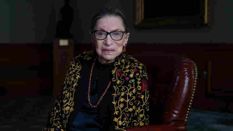 NPR Interview with Justice Ginsburg: 'I'm Still Very Much Alive'