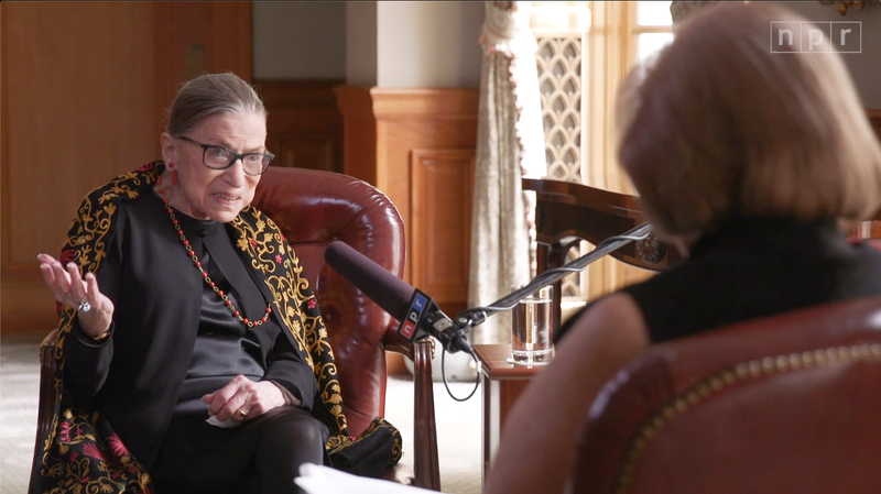 Does Justice Ruth Bader Ginsburg Have Any Regrets? Hardly