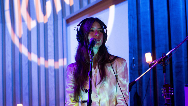 Weyes Blood performs live in KCRW studios.