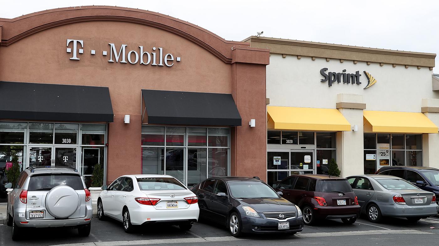 Justice Department Approves T Mobile Sprint Merger Npr
