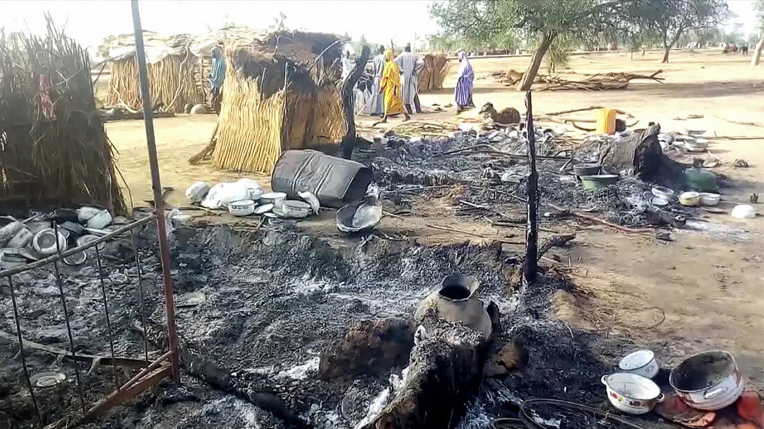 Boko Haram attack on funeral procession