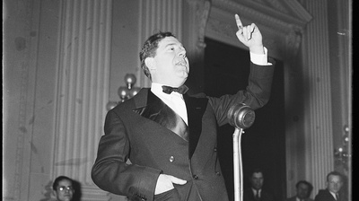 Huey Long Vs. The Media