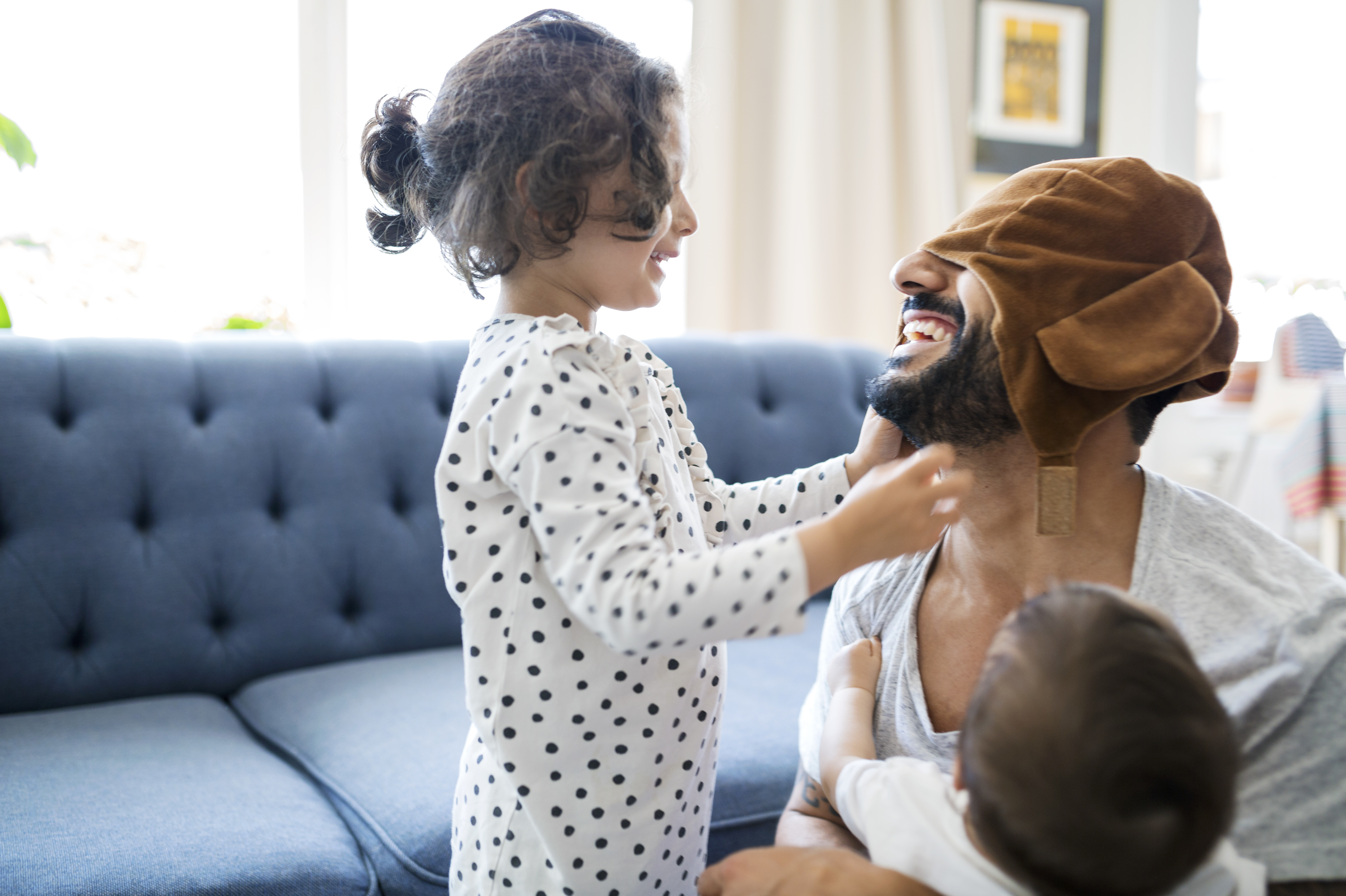 Kids See Bearded Men As Strong — But Unattractive, Study Finds