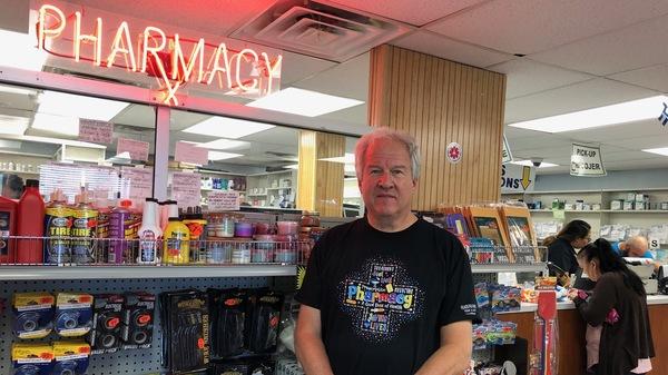 Richard Ost owns Philadelphia Pharmacy, in the city