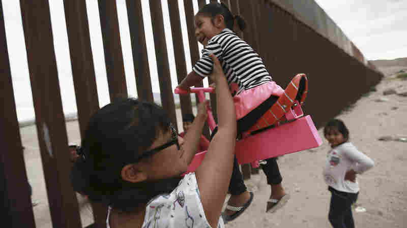 See-Saw Diplomacy Lets People Play Together Along U.S. Border Wall