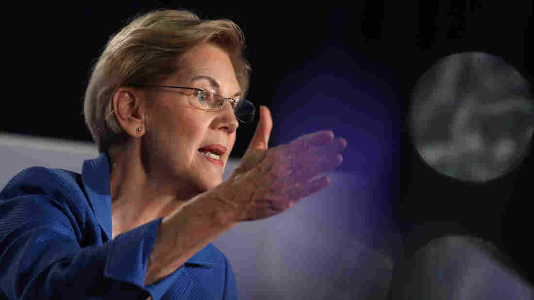 Elizabeth Warren has pitched a new idea. (Photo by Justin Sullivan/Getty Images)
