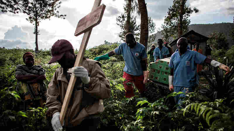 Ebola Outbreak In Congo Enters Year 2. Is An End In Sight?
