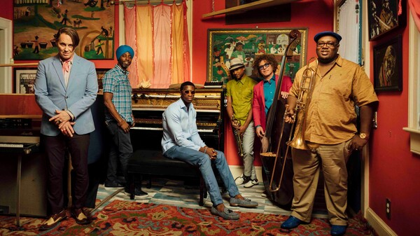 The venerable Preservation Hall Jazz Band makes a trip to Cuba and the results are funky sabroso