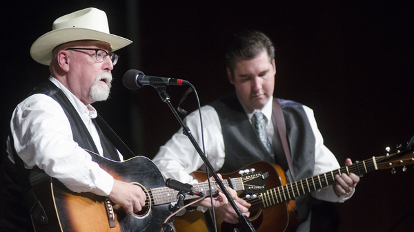 Darin Aldridge joins Joe Newberry to play guitar on Mountain Stage.