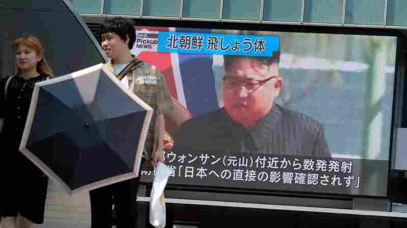North Korea Says It Tested New Rocket System For Use Against Ground Troops
