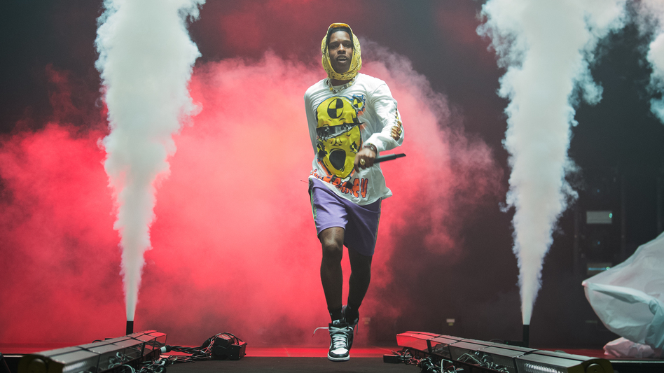 A$AP Rocky performs at Le Zenith on June 27, 2019 in Paris. The rapper was taken into custody in Stockholm five days later. (David Wolff - Patrick/Redferns)