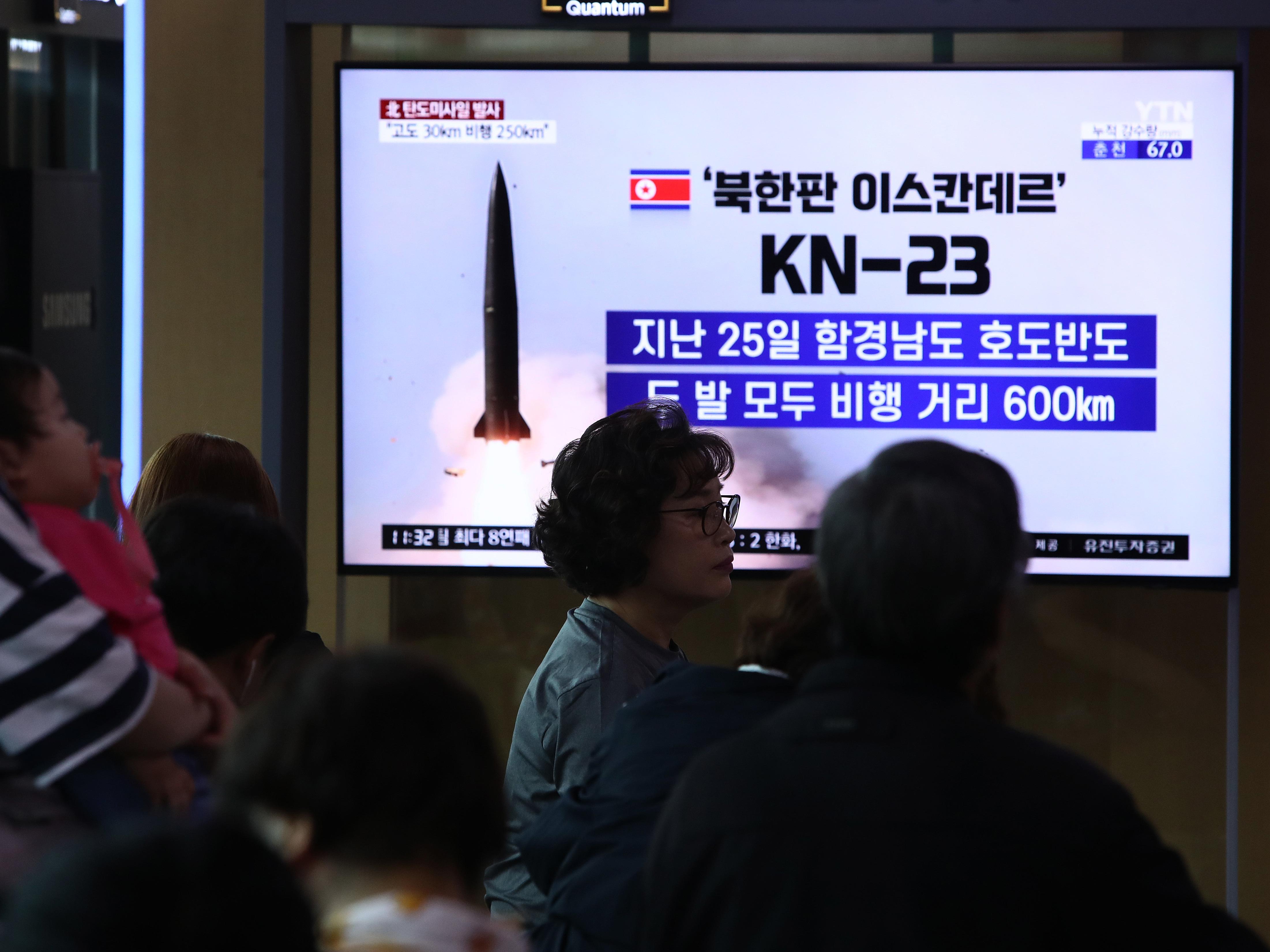 North Korea Conducts 3rd Missile Test Since Last Week Amid