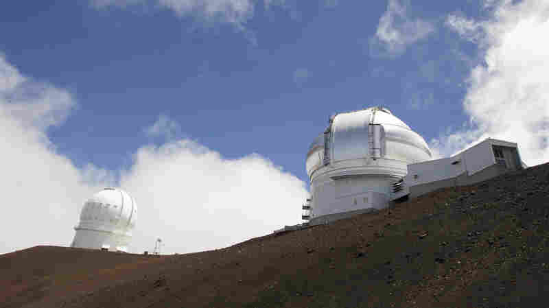 Amid Protests In Hawaii Against Giant Telescope, Astronomers Look To 'Plan B'