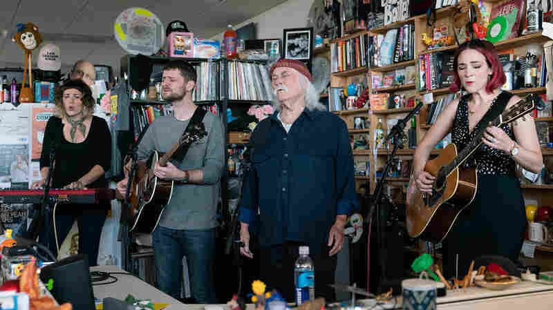 David Crosby & The Lighthouse Band: Tiny Desk Concert