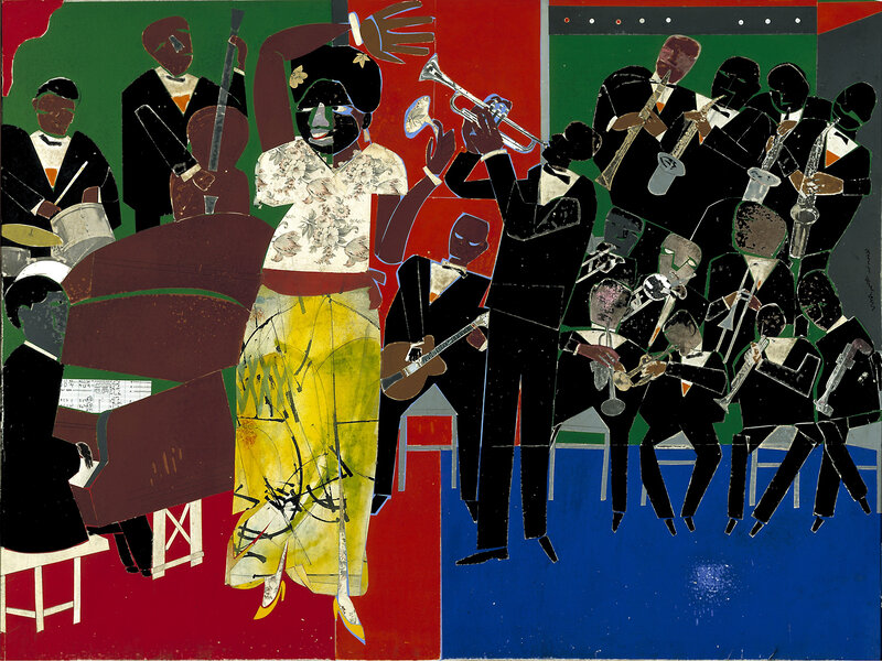 Romare Bearden's 'Empress Of The Blues' Reflects Bessie Smith In Feel And  Form : NPR