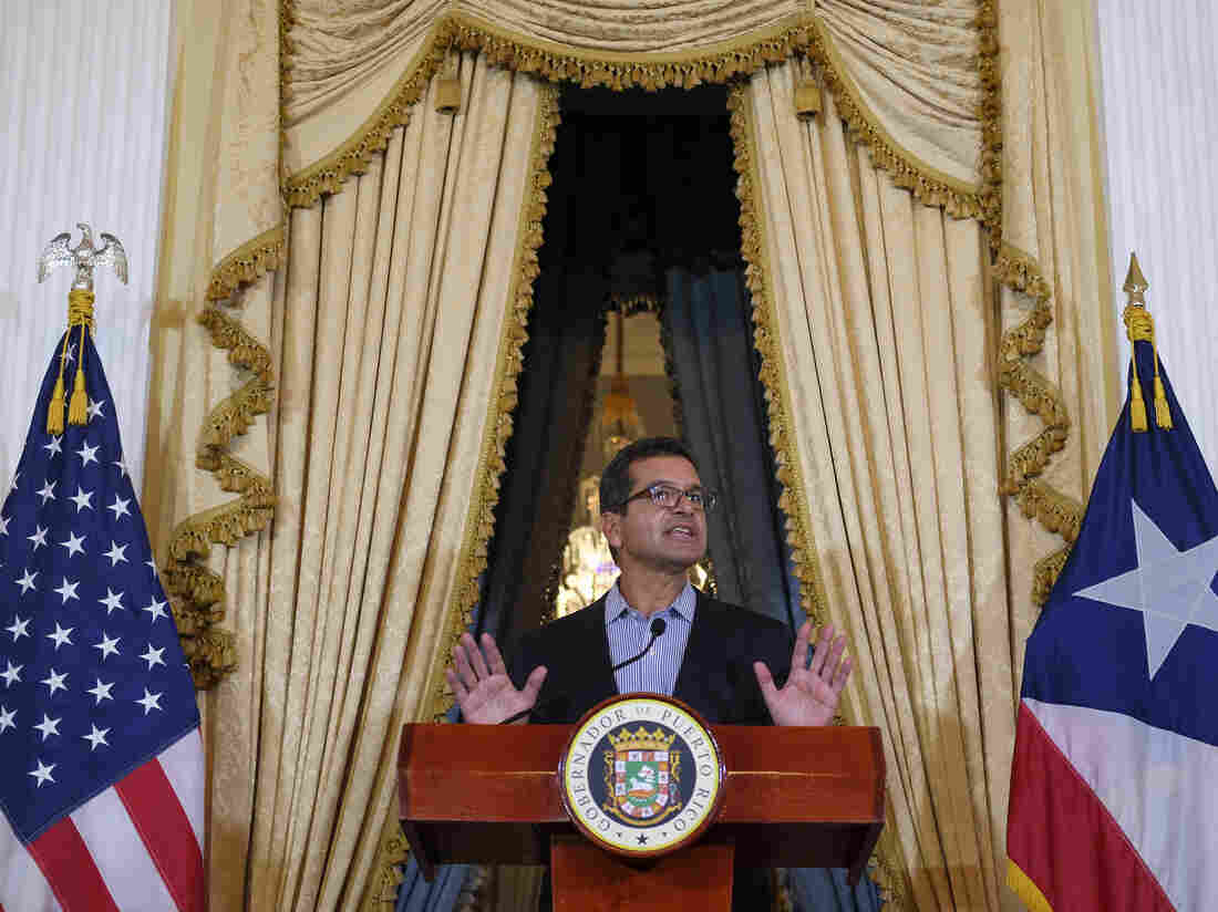 Wanda Vazquez sworn in as Puerto Rico's new governor
