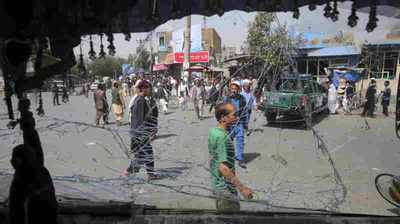 Taliban Attack In Kabul Kills At Least 14