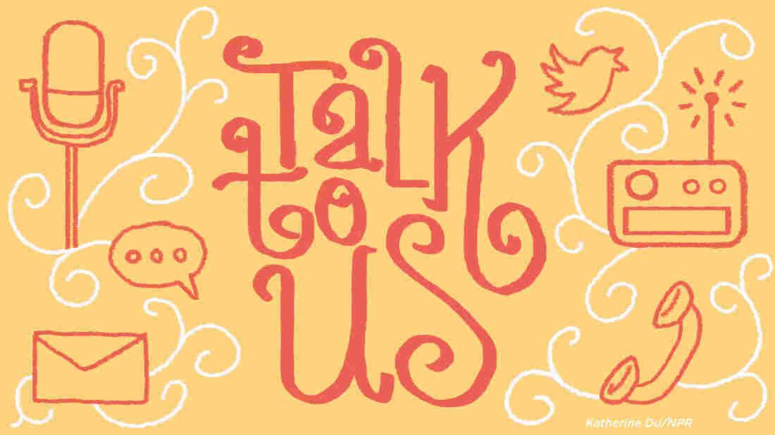 Talk to us illustration