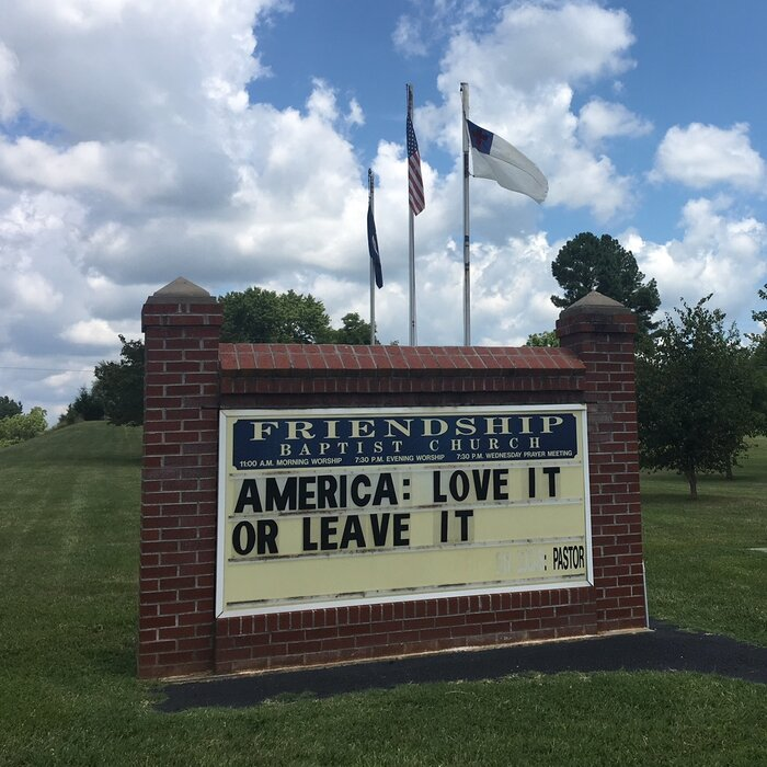 In Virginia, 2 Churches Feel The Aftermath Of Trump's Racist Rhetoric