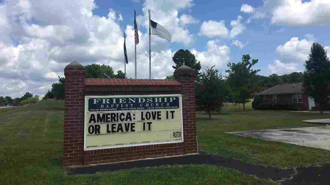 Westlake Legal Group friendship-appomattox_wide-d2a7dbab04f8f03de91f8348bbb348edb8f21755-s1100-c15 In Virginia, 2 Churches Feel The Aftermath Of Trump's Racist Rhetoric