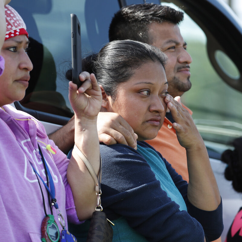 Some 300 Arrested In Mississippi Immigration Raids Have Been Released, Officials Say