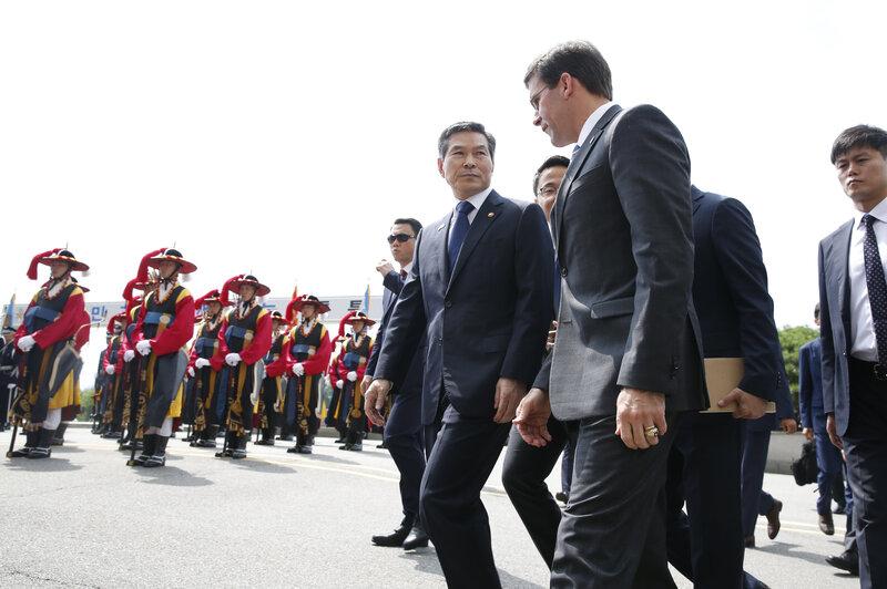 Defense Chief Esper Wraps Up Asia Trip As Alliance Comes